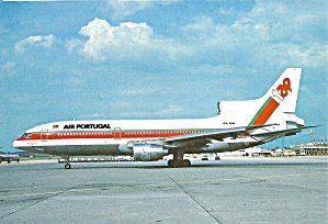 Air Portugal L-1011-500 CS-TED  postcard cs10376 (Image1)