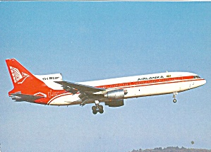 Air LANK L-1011-385 Tri Star  postcard cs10377 (Image1)
