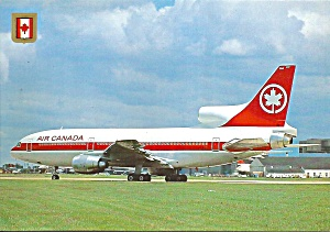 Air Canada L-1011 Postcard Cs10386