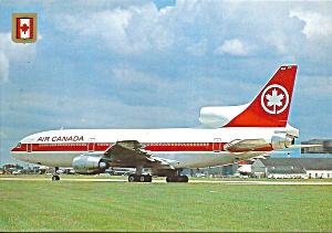 Air Canada L-1011  postcard cs10386 (Image1)