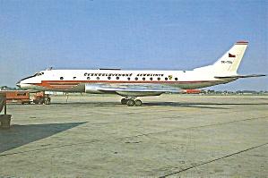 CSA Ceskoslvenske Aerolinte TU-124S OK-TEA cs10395 (Image1)