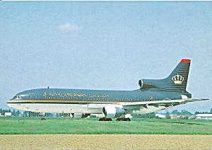 Royal Jordanian  Lockheed L-1011-500 Tristar cs 10400 (Image1)