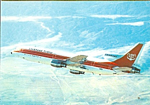 Lockheed L-1011 in Factory Colors N1011 postcard cs10424 (Image1)