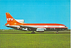 LTU L-1011-500 A-AERT on Taxiway postcard cs10425 (Image1)