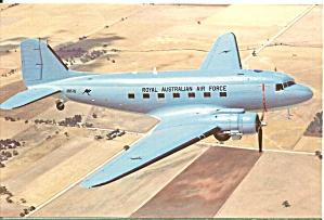 Australian Air Force C 47 A65 78 postcard cs10436 (Image1)
