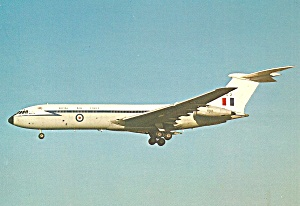 Raf Bac Vc 10 C1 Transport Xv102 Postcard Cs10438