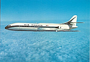 Air France Caravelle In Flight Cs10448