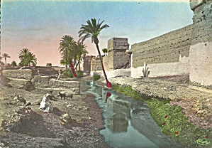 Maroc Photo of Typical Ramparts in Morocco cs10456 (Image1)