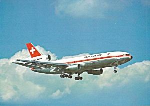 BALAIR  DC-10-30 on Approach postcard cs10470 (Image1)