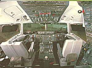 Japan Airlines DC10 Cockpit postcard cs10476 (Image1)