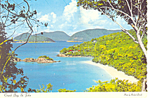 St John Virgin Islands Postcard 1978 (Image1)