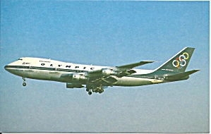 Olympica Airways 747-284b Sx-oaa Postcard Cs10511