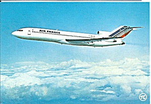Air France 727-200 F-bojb Postcard Cs10518