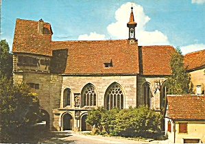 Rothenburg On Der Tauber Germany St Wolfgang Churchcs10564