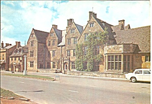 Worcestershire England The Lygon Arms Postcard Cs10587