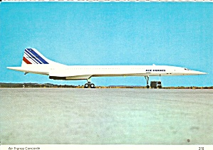 Air France Concorde Postcard Cs10599