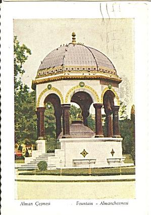 Istanbul Turkey Fountain Almanchesmesi cs10600 (Image1)