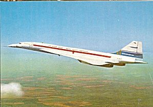Sud Aviation France Concorde In Flight Cs10604