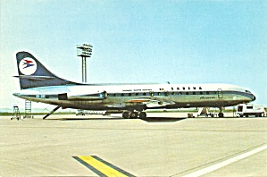 Sabena Leased To Air Inter Caravelle Se210-6n Cs10634