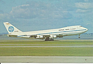 Pan Am 747-123f Clipper Carrier Dove Cs10657