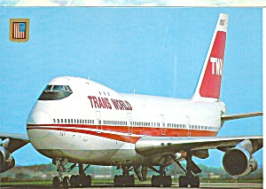 Twa Trans World Airways 747 Cs10667