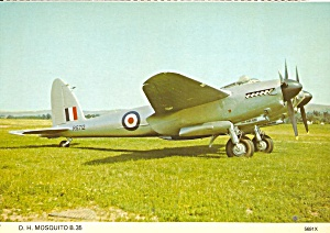 Raf Dh Mosquito B 35 Wooden Bomber Cs10675