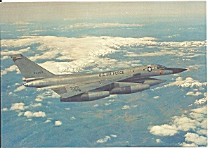 Usaf Convair B 58 Hustler In Flight Cs10709