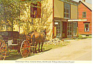 Sherbrooke Village, Nova Scotia,Canada Postcard (Image1)