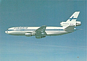 Finnair Dc-10 Dh-lha In Flight Cs10764