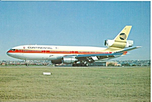 Continental Airlines Dc-10-30 N12061 Cs10767