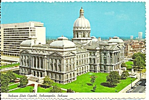 Idianapolis In Indiana State Capitol Cs10782