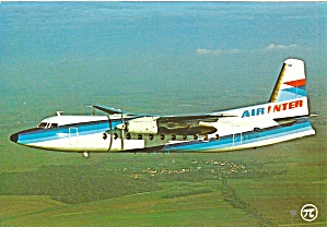Air Inter Fokker F-27-500 Cs10786
