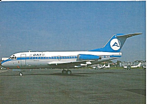 Dat Delta Air Transport Nv Fokker F-28 Cs10793