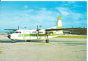 Air Jet Fokker F-27-400 F-byab Cs1804