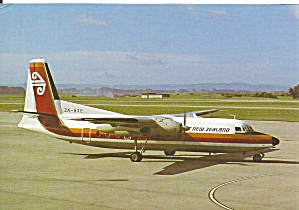 Air New Zealand Fokker F-27-100 Zk-bxe Kahu Cs10805