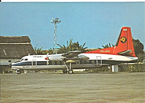Sempati Air Transport Pt Fokker F-27-600 Cs10835