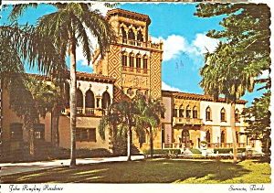 Sarasota FL John Ringling Residence East Facade cs10838 (Image1)