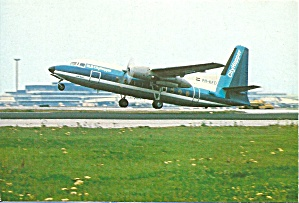 Nlm City Hopper Fokker F-27 At Rotation Cs10857