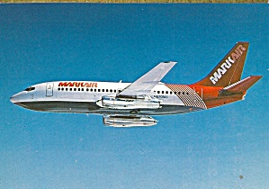 Markair 737-200 N670ma In Flight Cs10866