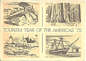 Tourism Year Of The America 1972 Cs10891