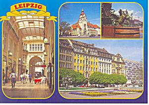 Views of Leipzig Germany Postcard cs1096 (Image1)
