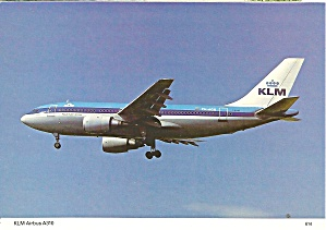 Klm Royal Dutch Airlines Airbus A310 Cs10972