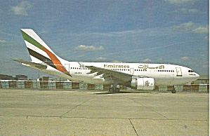 Emirates Airlines Airbus A310-304 A6-eka Cs10980