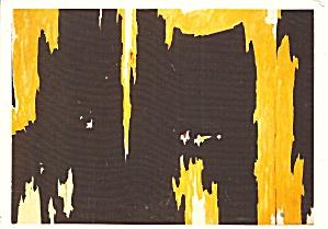 Clyfford Still Oil on Canvas Postcard cs10987 (Image1)