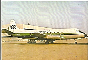 Guerney Airlines Vickers Viscount 724 G-bdrc Cs11005