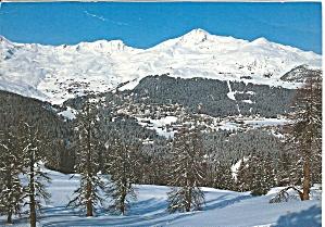 View of Arosa 1800m Switzerland cs11008 (Image1)