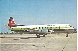 Manx Airlines Vickers Viscount 813 G-azna Cs11009