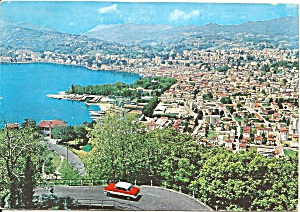 Lugano Switzerland Aerial View Cs11041