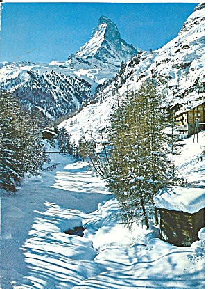 Zermatt Matterhorn Switzerland Cs11043