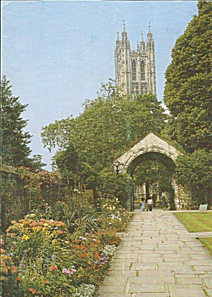 Canterbury Cathedral England War Memorial Garden Cs11044